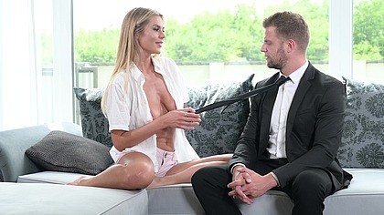 Wealthy Blonde MILF Zlata Shine Gives Her Ass to New Stud Employee GP2004
