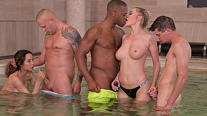 Wet and Wild Interracial Gangbang DP with Venera Maxima and Francys Belle GP1978